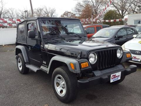 2005 Jeep Wrangler for sale at Car Complex in Linden NJ