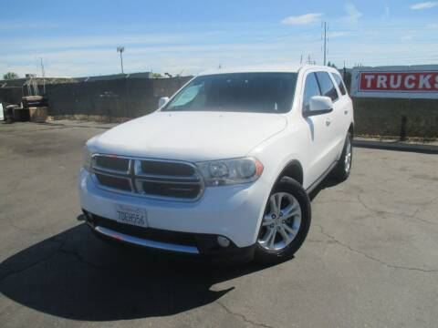 2013 Dodge Durango for sale at Quick Auto Sales in Modesto CA