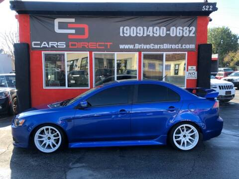 2015 Mitsubishi Lancer for sale at Cars Direct in Ontario CA