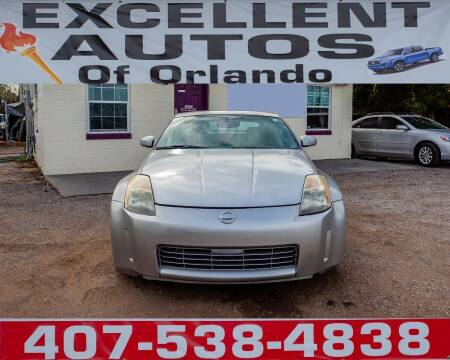 2003 Nissan 350Z for sale at Excellent Autos of Orlando in Orlando FL