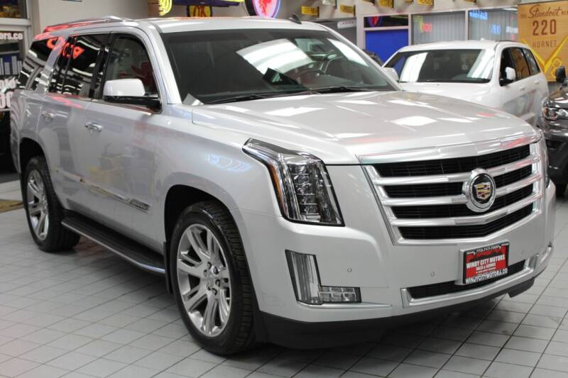 2015 Cadillac Escalade for sale at Windy City Motors in Chicago IL