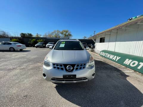 2013 Nissan Rogue for sale at SOUTHWAY MOTORS in Houston TX