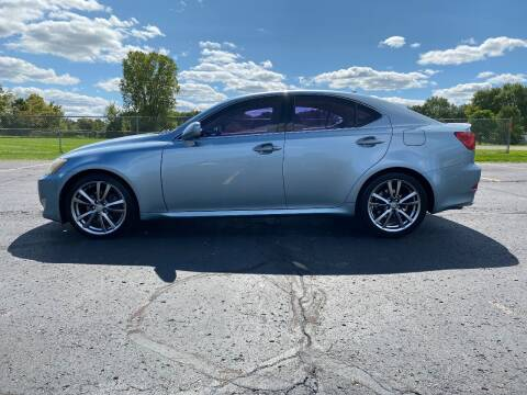 2008 Lexus IS 250 for sale at Caruzin Motors in Flint MI