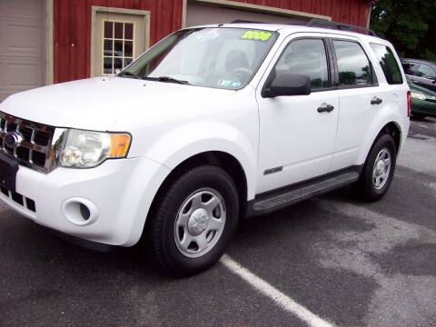 2008 Ford Escape for sale at Clift Auto Sales in Annville PA