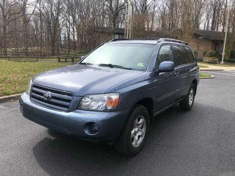 2005 Toyota Highlander for sale at Bowie Motor Co in Bowie MD