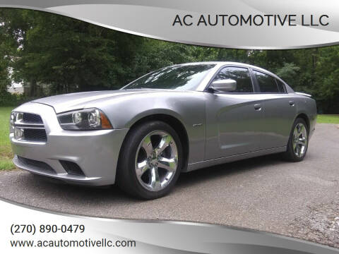 2011 Dodge Charger for sale at AC AUTOMOTIVE LLC in Hopkinsville KY