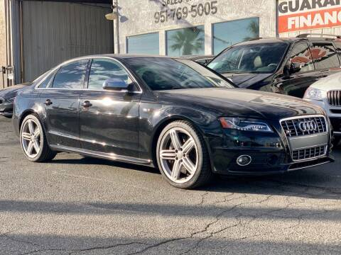 2010 Audi S4 for sale at Auto Source in Banning CA