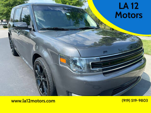 2018 Ford Flex for sale at LA 12 Motors in Durham NC