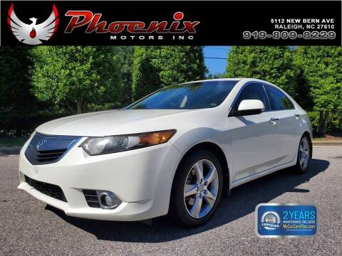 2011 Acura TSX for sale at Phoenix Motors Inc in Raleigh NC