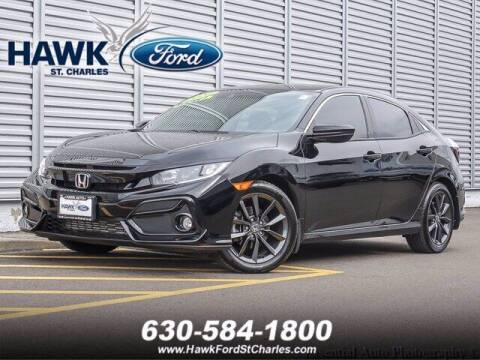 2020 Honda Civic for sale at Hawk Ford of St. Charles in St Charles IL