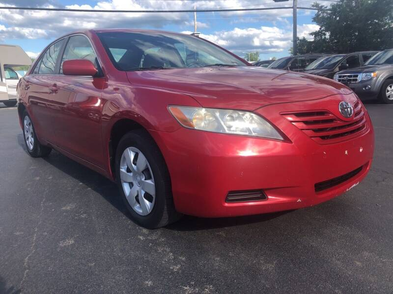 2007 Toyota Camry for sale at Action Automotive Service LLC in Hudson NY
