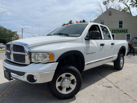 2004 Dodge Ram Pickup 2500 for sale at J's Auto Exchange in Derry NH