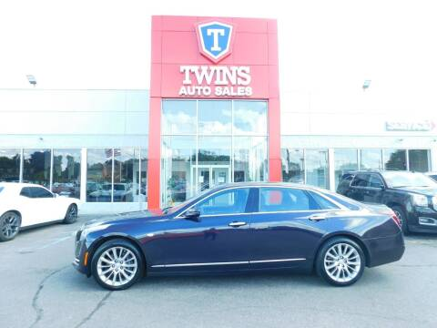 2018 Cadillac CT6 for sale at Twins Auto Sales Inc Redford 1 in Redford MI