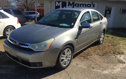 2008 Ford Focus for sale at Mama's Motors in Greer SC