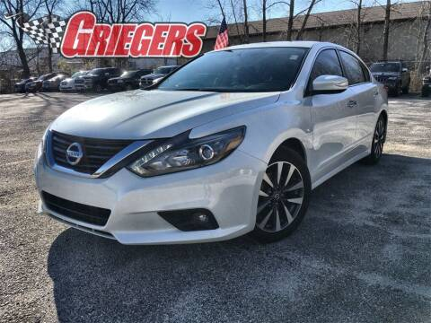 2017 Nissan Altima for sale at GRIEGER'S MOTOR SALES CHRYSLER DODGE JEEP RAM in Valparaiso IN