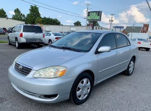 2005 Toyota Corolla for sale at Chili Motors in Mayfield KY