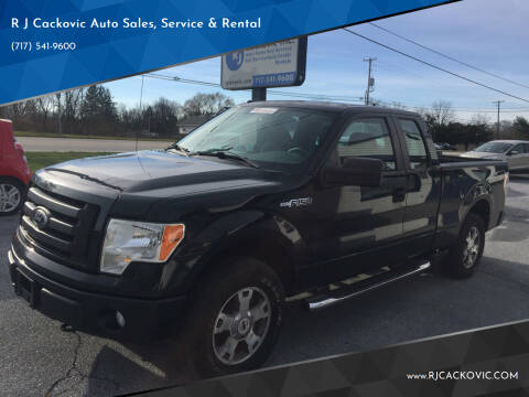 2010 Ford F-150 for sale at R J Cackovic Auto Sales, Service & Rental in Harrisburg PA