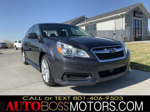 2013 Subaru Legacy for sale at Auto Boss in Woodscross UT