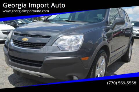 2013 Chevrolet Captiva Sport for sale at Georgia Import Auto in Alpharetta GA
