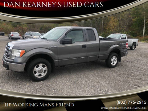 2009 Ford F-150 for sale at DAN KEARNEY'S USED CARS in Center Rutland VT