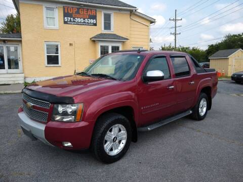 2007 Chevrolet Avalanche for sale at Top Gear Motors in Winchester VA