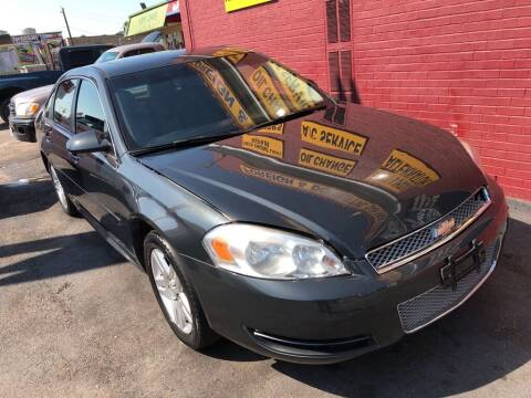 2015 Chevrolet Impala Limited for sale at 4 Girls Auto Sales in Houston TX