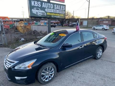 2015 Nissan Altima for sale at KBS Auto Sales in Cincinnati OH