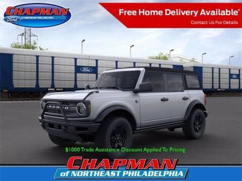 2021 Ford Bronco for sale at CHAPMAN FORD NORTHEAST PHILADELPHIA in Philadelphia PA