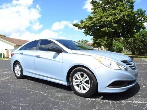 2014 Hyundai Sonata for sale at SUPER DEAL MOTORS 441 in Hollywood FL