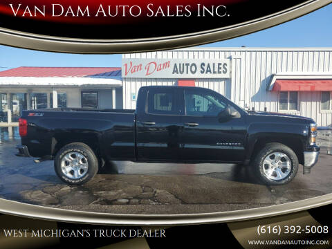 2014 Chevrolet Silverado 1500 for sale at Van Dam Auto Sales Inc. in Holland MI
