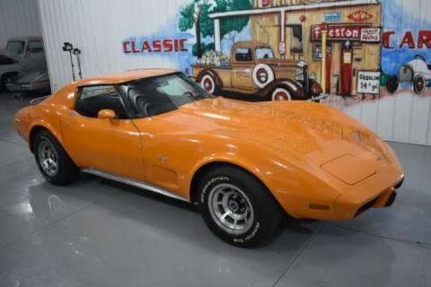 1977 Chevrolet Corvette for sale at Classic Car Deals in Cadillac MI