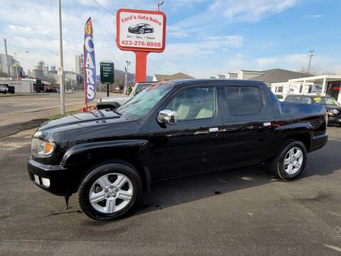 2012 Honda Ridgeline for sale at Ford's Auto Sales in Kingsport TN