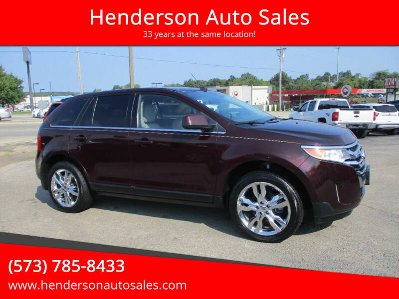 2011 Ford Edge for sale at Henderson Auto Sales in Poplar Bluff MO