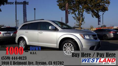 2014 Dodge Journey for sale at Westland Auto Sales in Fresno CA