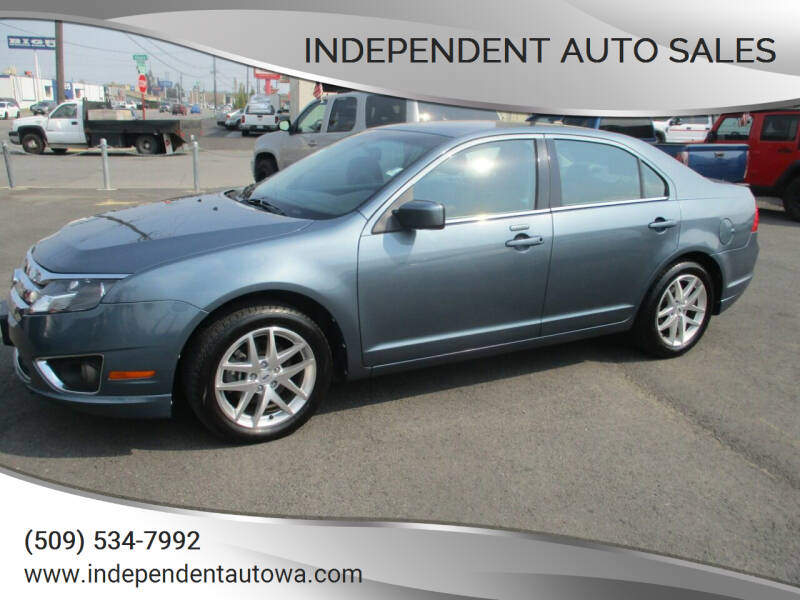 2012 Ford Fusion for sale at Independent Auto Sales in Spokane Valley WA
