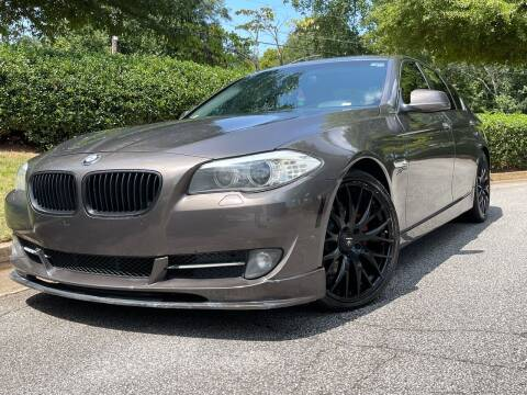 2012 BMW 5 Series for sale at Global Imports Auto Sales in Buford GA