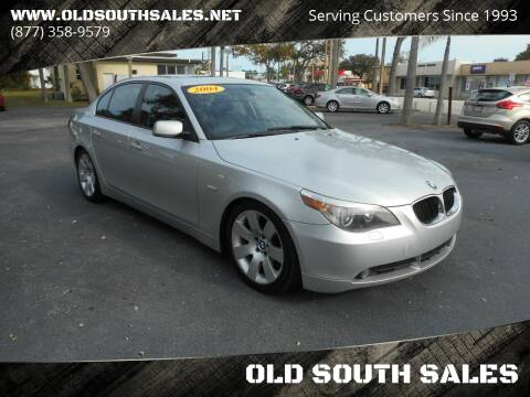2004 BMW 5 Series for sale at OLD SOUTH SALES in Vero Beach FL