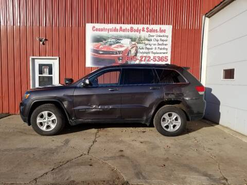 2014 Jeep Grand Cherokee for sale at Countryside Auto Body & Sales, Inc in Gary SD