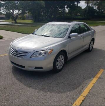 2007 Toyota Camry for sale at USA BUSINESS SOLUTIONS GROUP in Davie FL