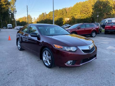 2011 Acura TSX for sale at Galaxy Auto Sale in Fuquay Varina NC