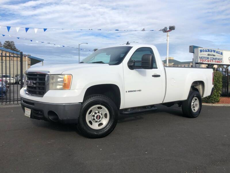 2007 GMC Sierra 2500HD for sale at BOARDWALK MOTOR COMPANY in Fairfield CA