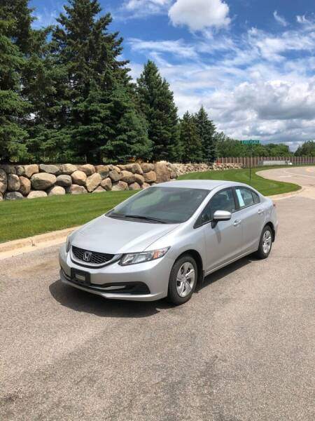 2015 Honda Civic for sale at Prime Auto Sales in Rogers MN