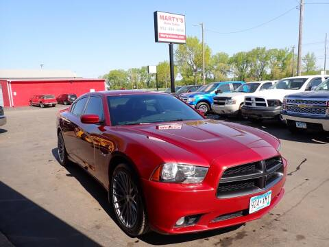 2014 Dodge Charger for sale at Marty's Auto Sales in Savage MN