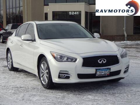 2014 Infiniti Q50 for sale at RAVMOTORS 2 in Crystal MN