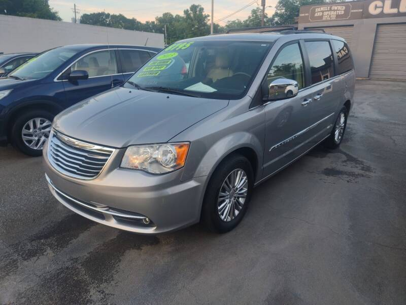 2013 Chrysler Town and Country for sale at DON BAILEY AUTO SALES in Phenix City AL