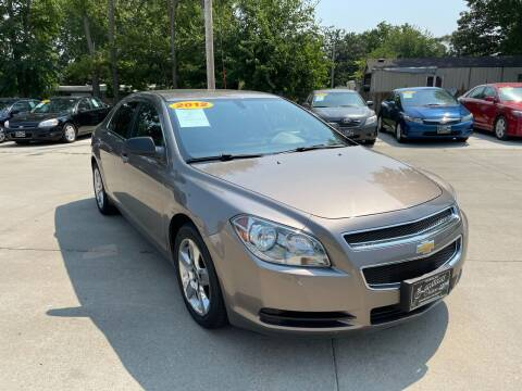 2012 Chevrolet Malibu for sale at Zacatecas Motors Corp in Des Moines IA