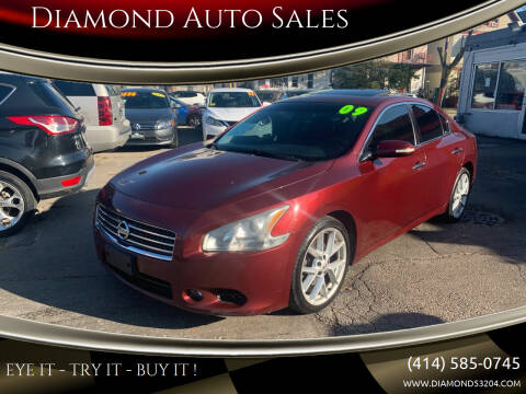 2009 Nissan Maxima for sale at Diamond Auto Sales in Milwaukee WI