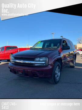 2004 Chevrolet TrailBlazer for sale at Quality Auto City Inc. in Laramie WY