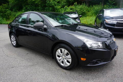 2012 Chevrolet Cruze for sale at Bloom Auto in Ledgewood NJ