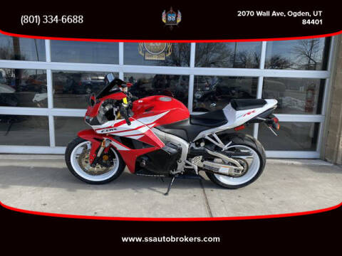 2012 Honda CBR600RR for sale at S S Auto Brokers in Ogden UT